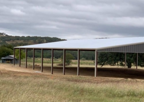Grey Arena by Covered Arena (TM) and Dressage Arenas