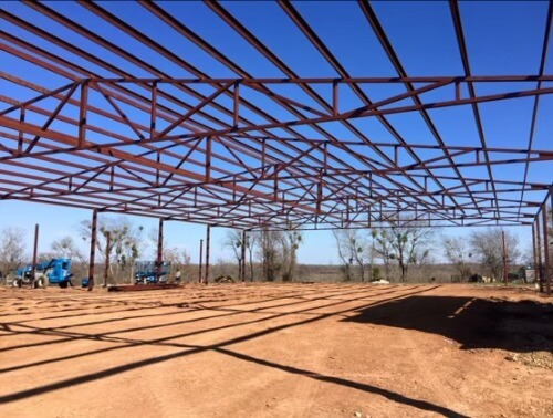 Arena framework by Covered Arena (TM) and Dressage Arenas
