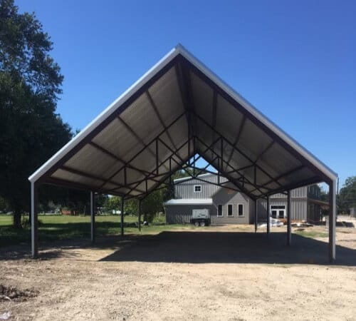 RV storage by Covered Arena (TM) and Dressage Arenas