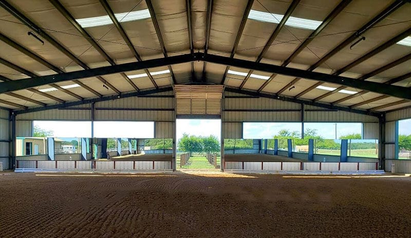 Arena mirrors by Covered Arena (TM) and Dressage Arenas